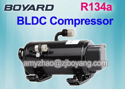 12v Air Conditioner For Car With Ce Rohs Horizontal Dc Compressor