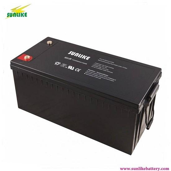 12v100ah Deep Cycle Solar Battery Gel For Power Systems