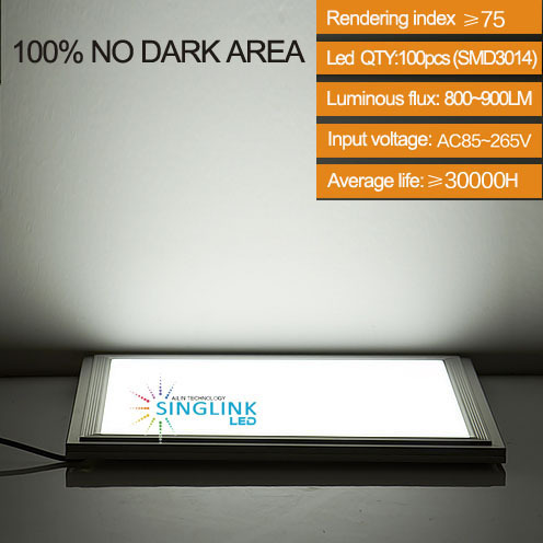 12w 300x300x9mm The 3rd Generation Led Panel Ceiling Light Lamps