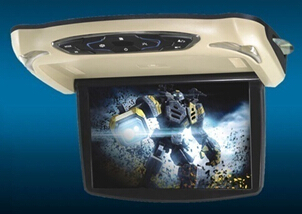 13 3 Car Overhead Flipdown Dvd Player