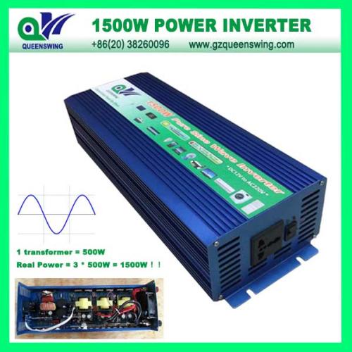 1500w Pure Sine Wave Power Inverter