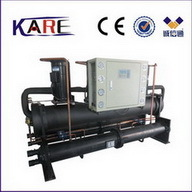 150kw 40ton Open Type Scroll Shell Tube Water Cooling Equipment