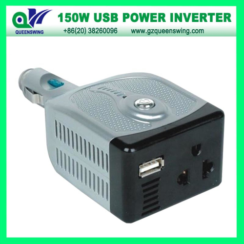 150w Car Inverter With Usb Charger Power