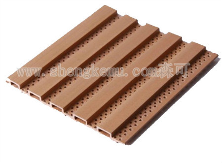 159 Acoustic Board Wpc Pvc Decking Anticorrosive Moisture Proof
