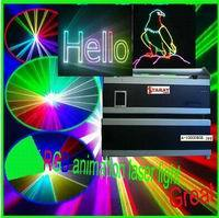 15w Full Color Dj Disco Laser Stage Lights Show