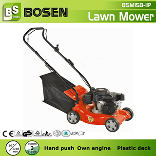 16 Plastic Deck Petrol Lawnmower