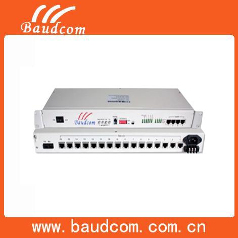 16e1 Optical Fiber Multiplexer With 4ethernet