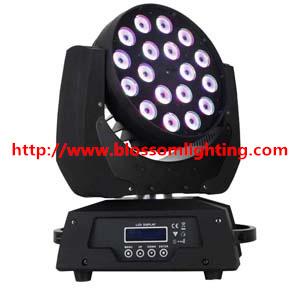 18 10w Led Moving Head Wash Light Bs 1010