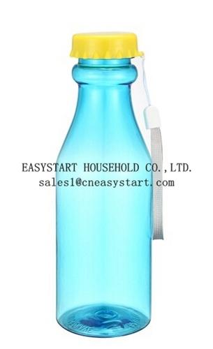 18 21oz Portable Leak Proof Water Bottle Unbroken Platic Soda Trans