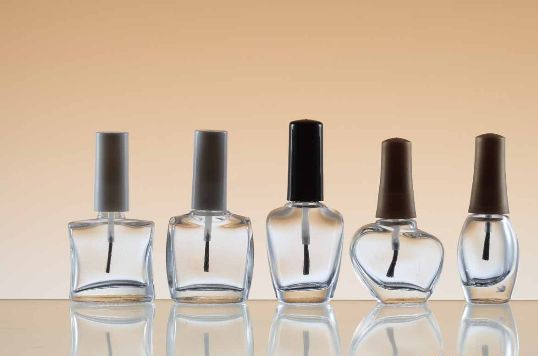 18ml Clear Nail Polish Bottle With Brush