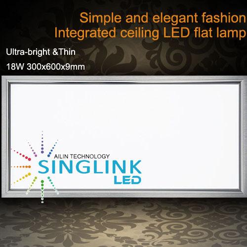 18w 300x600x9mm Led Commercial Panel Light