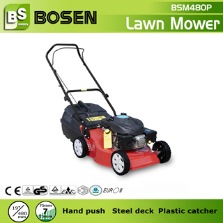 19 Lawn Mower With Plastic Grass Catcher