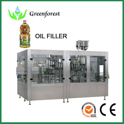 1900bph 500ml Oil Filling Machine