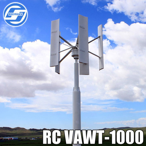 1kw Alternative Energy System Wind Power Turbine For House Use