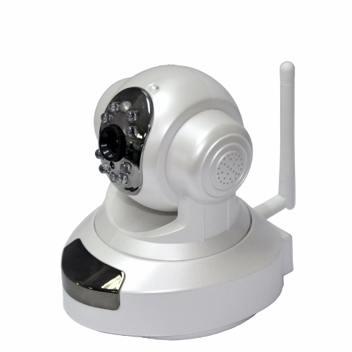 1megapixel Wireless Tilt Pan Ip Camera With Tf Card Memory And Free Ddns
