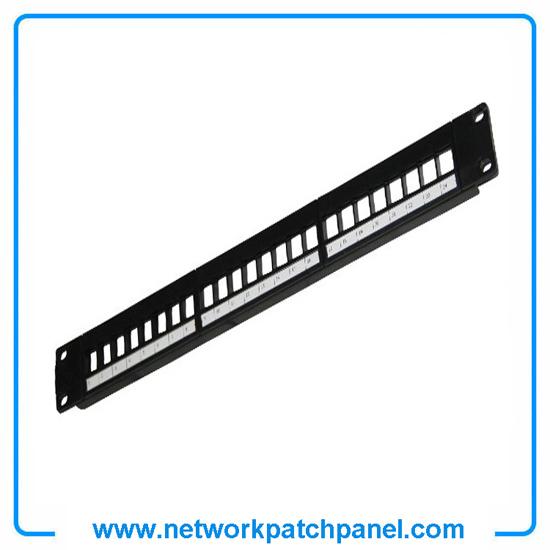 1u 19inch 180 Degree Horizontal 24 Port Modular Patch Panels