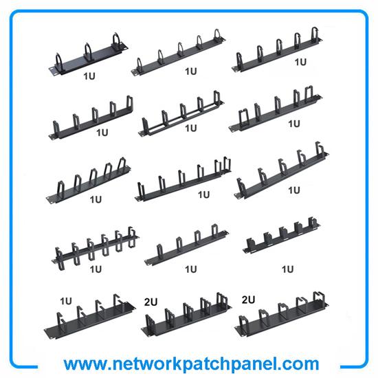 1u 2u Network Server Cable Management Rings Racks Bars Brackets