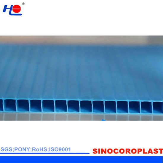 2 12mm Pp Corrugated Protection Sheet