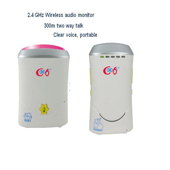 2 4g Wireless Audio Digital Baby Monitor
