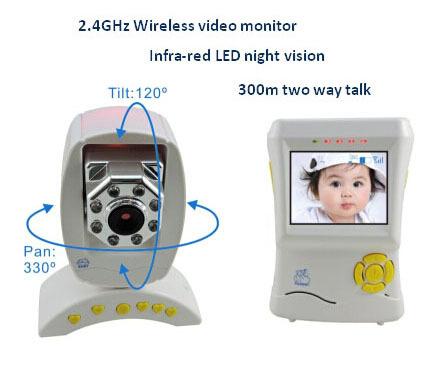 2 4g Wireless Digital Video Baby Monitor