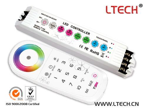 2 4ghz Rf Wireless Synchronization Zone Rgb Controller