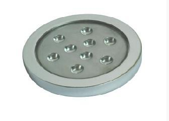 2 5w Dia 70mm Led Surface Mounted Fixed Under Cabinet Puck Light