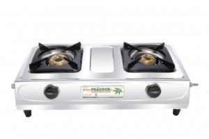 2 Burner Peacock Plus Gas Stove