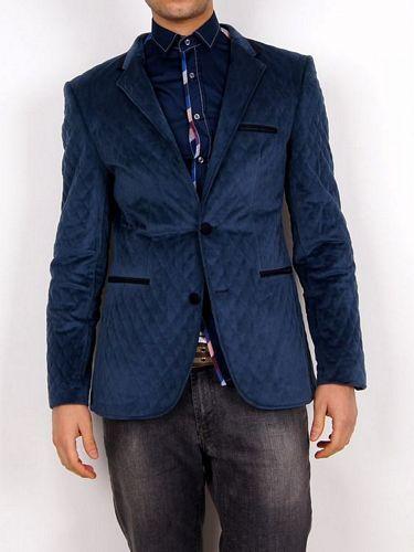 2 Button Velvet Jacket