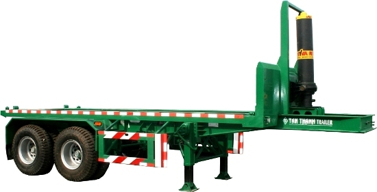 20 Feet Tipping Container Trailer 922 Tp 01