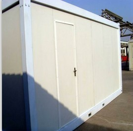 20 Ft Self Made Glasswool Insulation Container House