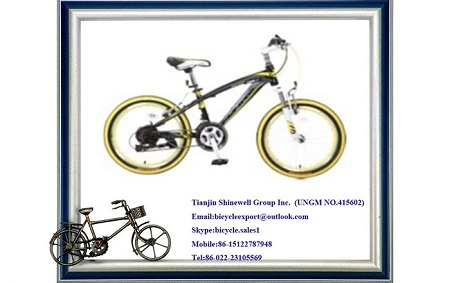 20 Inch Mountain Bicycle With Fork Suspension Disc Brake