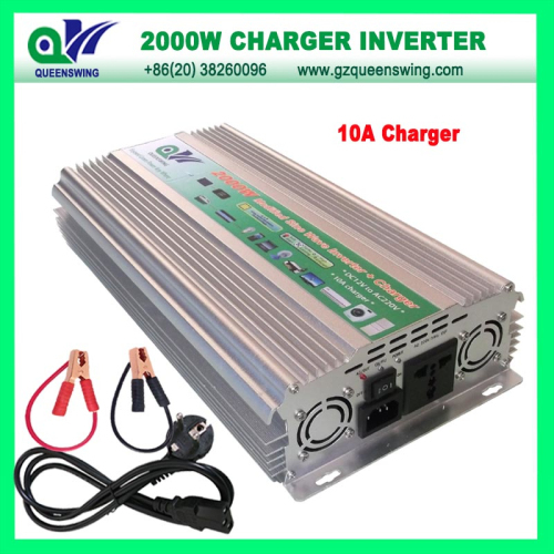 2000w Modified Sine Wave Power Inverter With 10a Charger