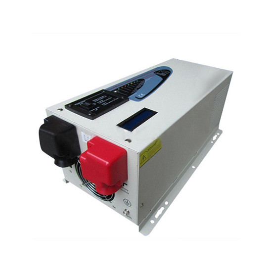 2000w Peak 6000w Dc24v 48v Pure Sine Wave Inverter With Charger 30amp Lcd S