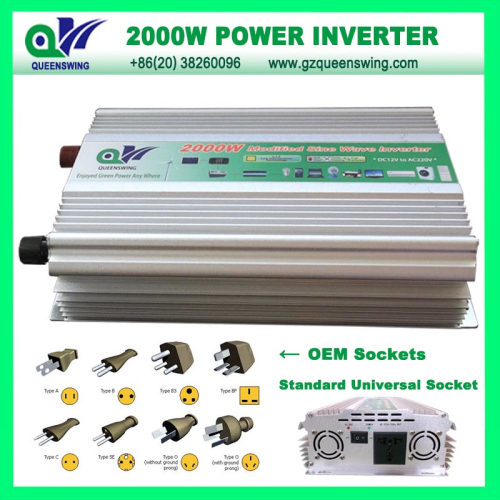 2000w Power Inverter Without Charge