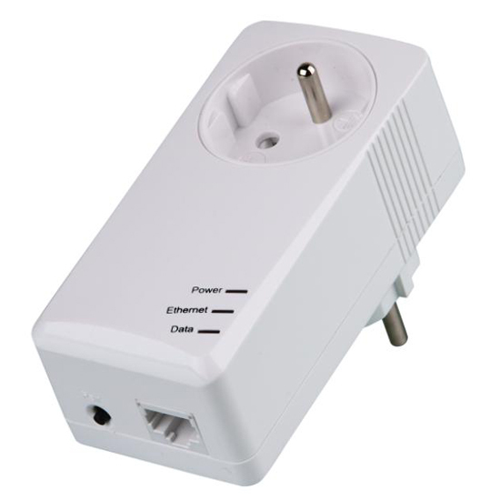 200mbps Pass Through Powerline Adapter