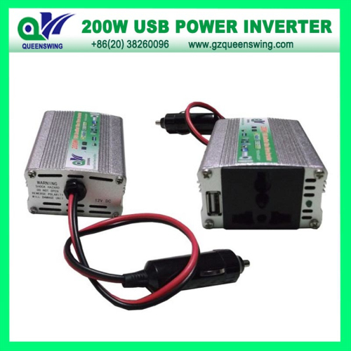 200w Car Power Inverter With Usb