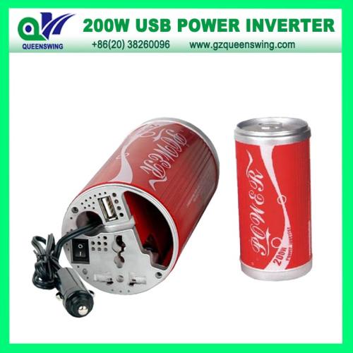 200w Usb Pot Shaped Car Power Inverter
