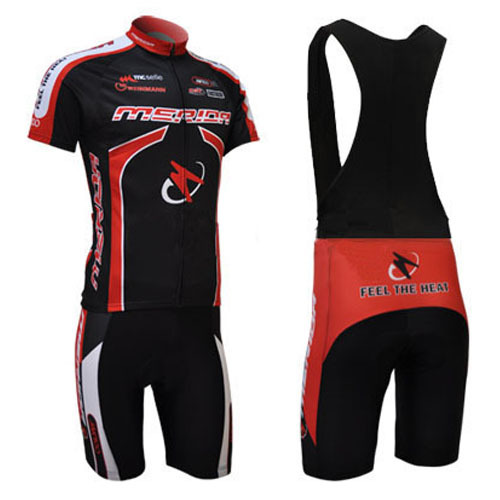 2012 Runtowell Black And Red Sublimation Cycling Wear Clothing