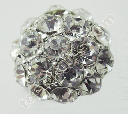 2013 Fashion Middle East Rhinestone Button
