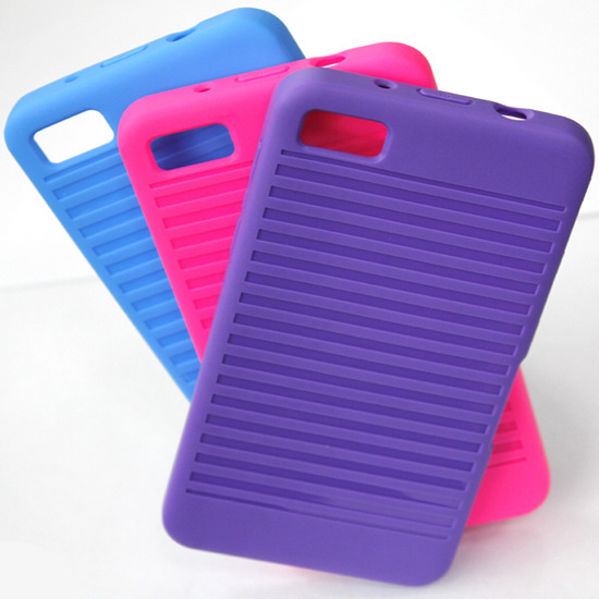 2013 New Case Coming Tpu Soft Bumper For Blackberry Z10