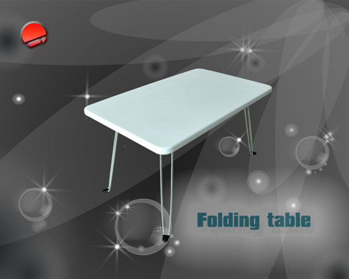 2013 New Design Plasic Folding Table From China For Sale Size H40cm