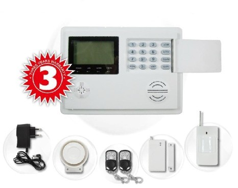 2013 New Gsm Pstn Dual Network Burglar Alarm System