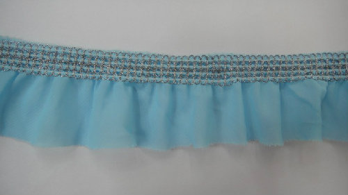 2013 Thread Of Elasticity Decorated Smooth Organza Lace