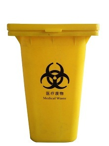 2014 240l Hot Sale Higher Quality Cheap Plastic Medical Waste Bin