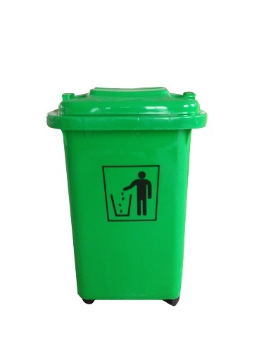 2014 50l Hot Sale Higher Quality Cheap Plastic Dustbin Garbage Bin Waste