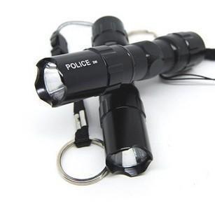 2014 New Hot Mini Black Led Waterproof Torch