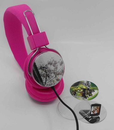 2014 Popular Colorful Stereo Headphone Cheap And Hot Headband