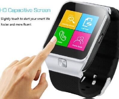 2015 Fashionable Bluetooth Smart Phone Watch
