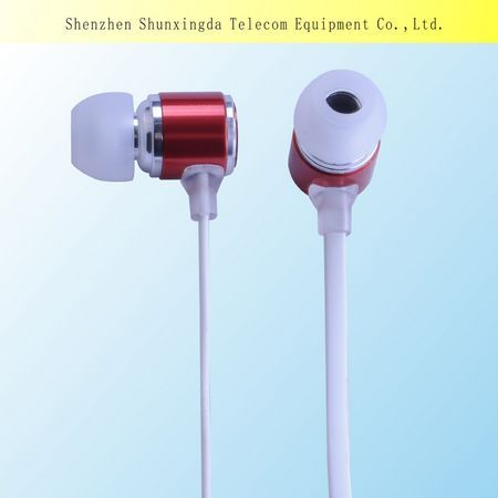 2015 Sxd Earphone Headphone With Deep Bass And Customized Logo Free Samples