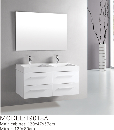 2016 Double Sink Bathroom Vanity Unit T9018